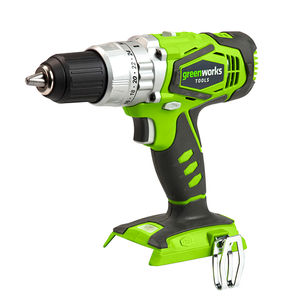 Greenworks 24V Combi Drill (Bare Tool) No Colour
