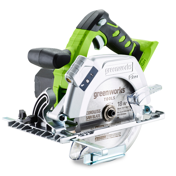 Greenworks 24V Circular Saw (Bare Tool) No Colour