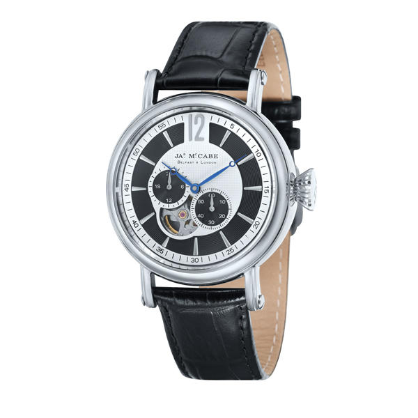 £100 off James McCabe Gent's Automatic Multi-function Lurgan Watch with Genuine Leather Strap