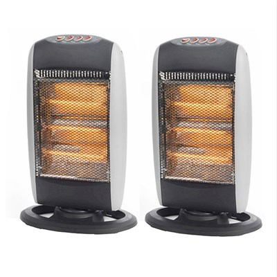 Beldray Halogen Heater 1200W (Twin Pack)