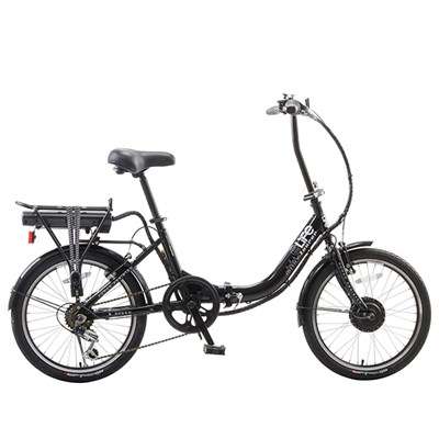 eLife Tourer 6sp 24V 250W Folding Electric Bike with 20inch Wheels