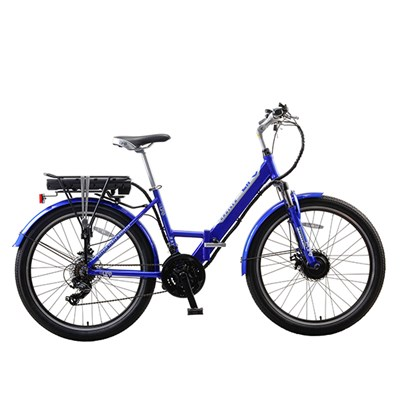 eLife Cruiser 21sp 36v 250w Folding Electric Bike with 26inch Wheel