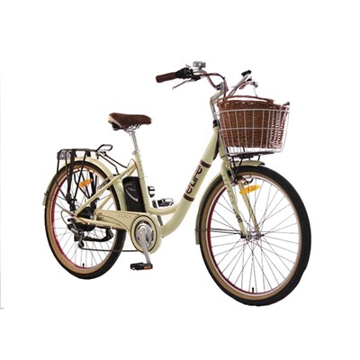 eLife Legacy 6sp 36V Heritage Electric Bike with 26inch Wheel