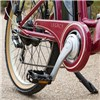 eLife Legacy 6sp 36V Heritage Electric Bike with 26inch Wheel Burgundy