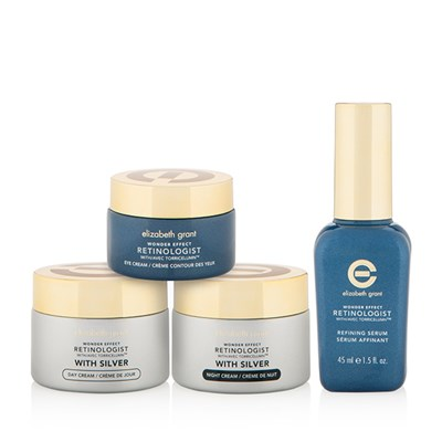 Elizabeth Grant Wonder Effect Retinologist with Silver 4 Piece Collection