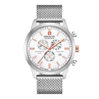Swiss Military by Hanowa Gent's Chrono Classic Watch with Milanese Strap