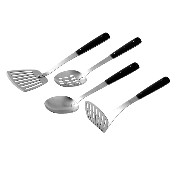 Dexam Stainless Steel Essentials 4pc Utensil Set No Colour