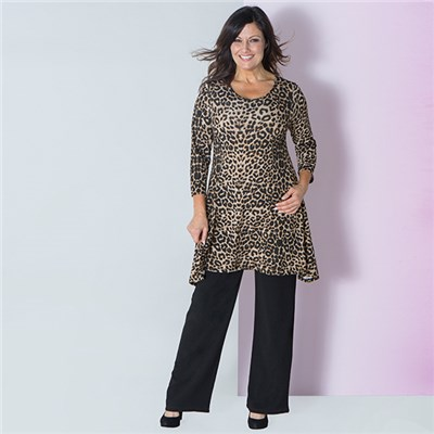 Nouvelle Animal Print Tunic