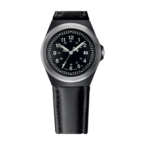 Traser Gent's Swiss T3 P59 Classic Watch with Black Strap Leather
