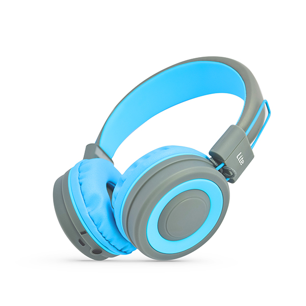 STK Pump Bluetooth Headphones Blue