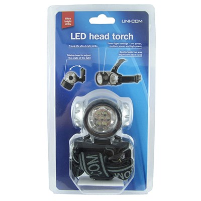 Uni-Com LED Head Torch
