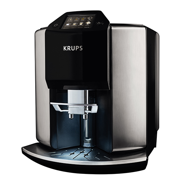 KRUPS Barista Automatic Espresso Bean to Cup Stainless Steel Coffee Machine EA907D40 No Colour