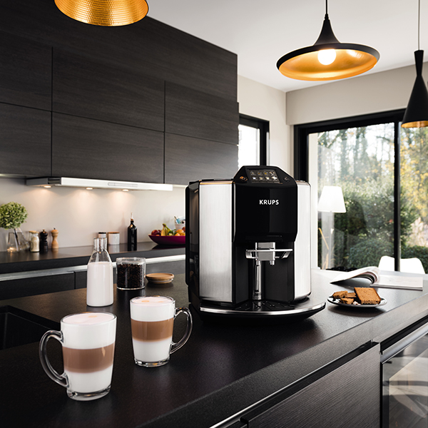 £400 off KRUPS Barista Automatic Espresso Bean to Cup Stainless Steel Coffee Machine