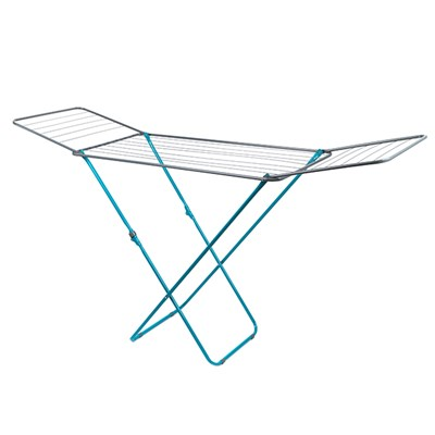 Beldray La023810Tq Clothes Airer, 18 M Drying Space, Turquoise
