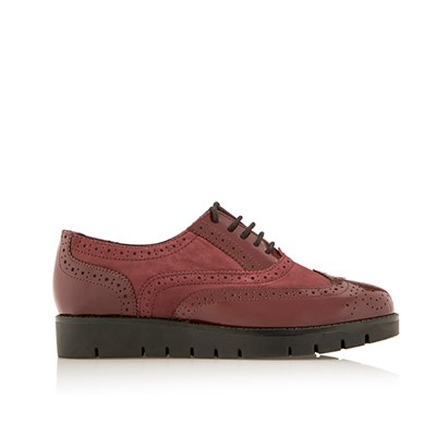 Scholl Virginia Wine Brogue