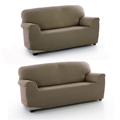 Two Way Bi Stretch 2 and 3 Seater Sofa Cover