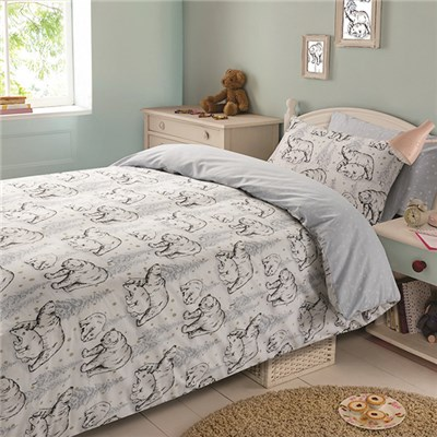 Polar Bear Duvet Cover Set Double
