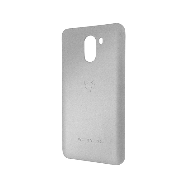 Wileyfox Swift 2X Velvet Hard Case Grey
