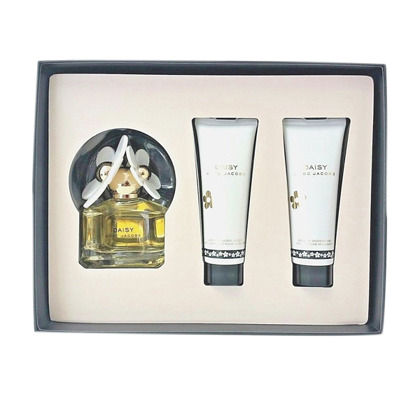 Marc Jacobs Daisy EDT 50ML, Shower Gel 75ml & Body Lotion 75ml No Colour