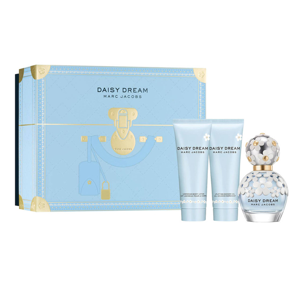 Marc Jacobs Daisy Dream EDT 50ml Body Lotion 75ml and Shower Gel 75ml No Colour