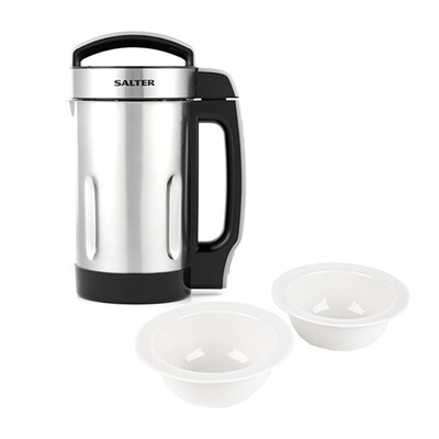 Salter Let's Go Healthy 1.6 Litre Soup Maker with Pack of 4 Alessi Bowls