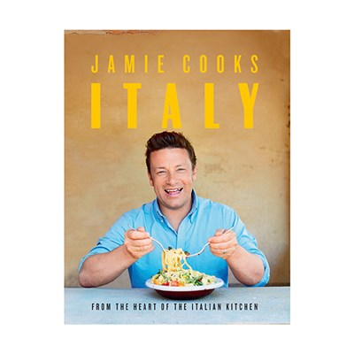 Jamie Oliver Cooks Italy Hardcover Book