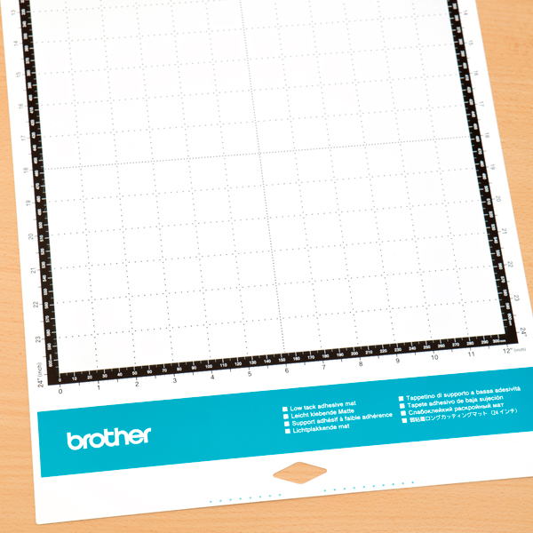 Brother ScanNCut SDX1200 12 x 24 Low Tack Adhesive Mat No Colour