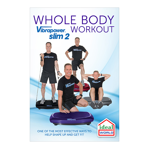 Vibrapower Slim 2 Plus DVD Approx. Run Time 20 Mins No Colour
