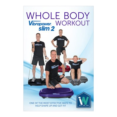 Vibrapower Slim 2 Plus DVD (approx. run time 20 mins)