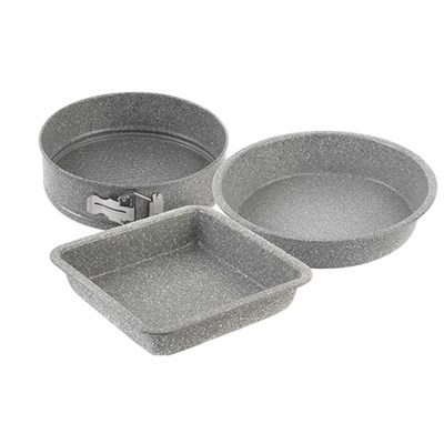 Salter 3 Piece Marble Bake and Roast Set