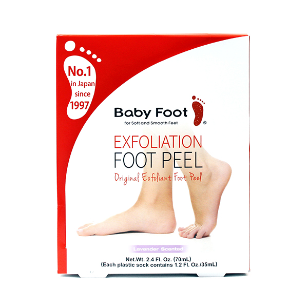 Baby Foot Exfoliation Foot Peel No Colour