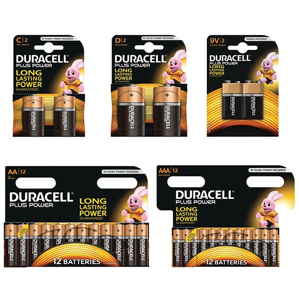 Duracell Mega Christmas Battery Pack No Colour