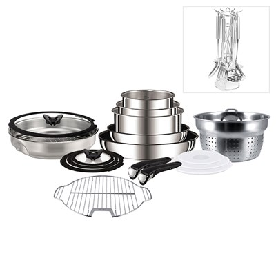 Tefal Ingenio Complete System with FREE Russell Hobbs Kitchen Utensil Set