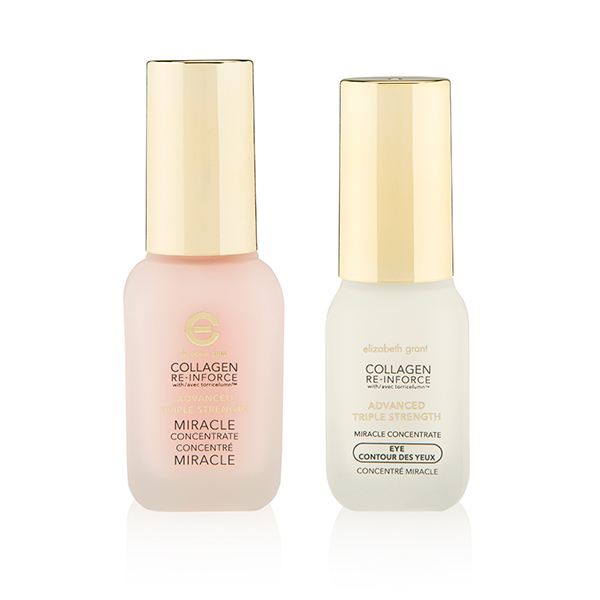 Elizabeth Grant Collagen Re-Inforce Triple Strength Miracle Concentrate 30ml and Eye 15ml No Colour