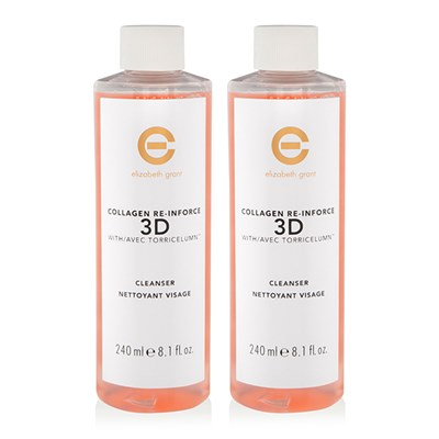 Elizabeth Grant Collagen 3D Cleanser 240ml Duo