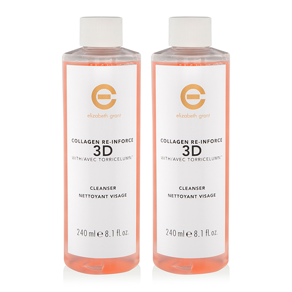 Elizabeth Grant Collagen 3D Cleanser 240ml Duo No Colour