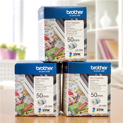 Brother Design 'n' Craft Printer Rolls 50mm Pack of 3 Despatched from 9th November