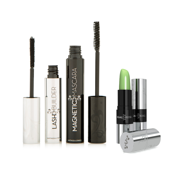 54% off Santhilea Real Rebel Luxury Lip Care and Magnetic Mascara 1-2-1 Lash Extension System