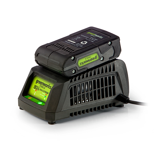 Greenworks 24V 2Ah Lithium-ion Battery & Fast Charger No Colour