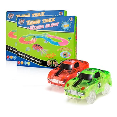 Turbo Trax Ultra Glow Twin Pack