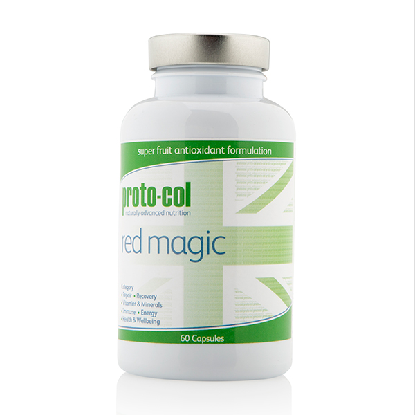 Proto-col Red Magic 60 Capsules No Colour