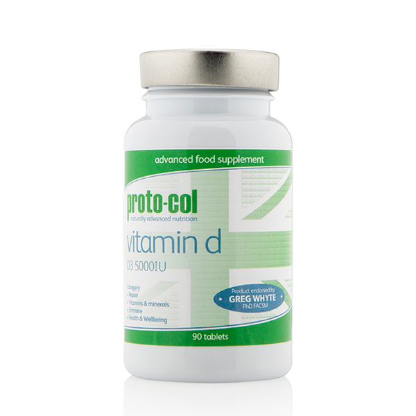 proto-col Vitamin D 90 Tablets No Colour