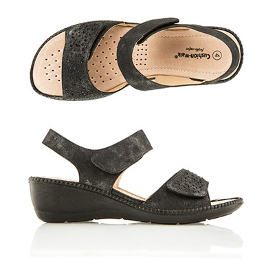 Cushion Walk Comfort One Touch Diamante Sandal