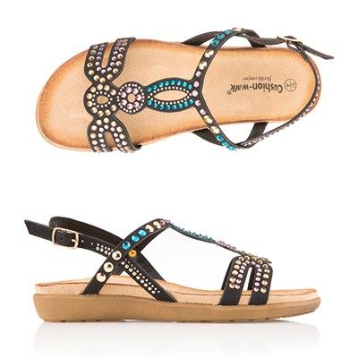 Cushion Walk Comfort Multi Stone Sandal