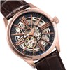 Thomas Earnshaw Gents Armagh Automatic Skeleton watch with Genuine Leather Strap