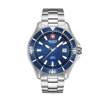Swiss Military by Hanowa Gent's Nautila Watch with Stainless Steel Bracelet