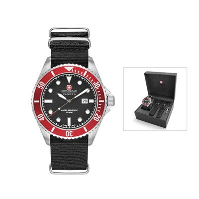 Swiss Military by Hanowa Gent's Sea Lion Watch with Interchangeable Straps & Tool