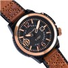 Ballast Gents Trafalgar Automatic  IP Plating Watch with Genuine Leather Strap