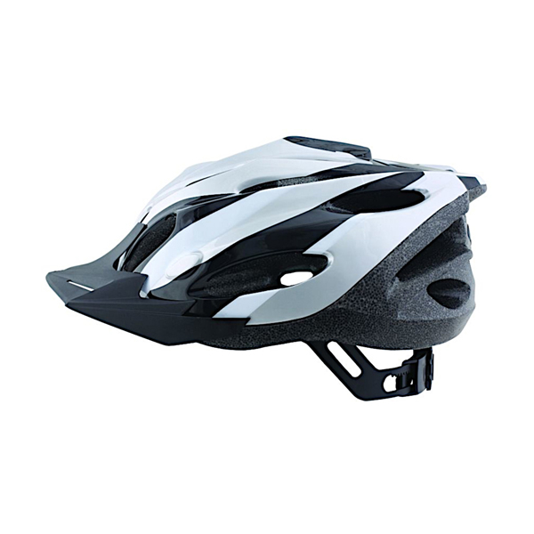 ETC Zephyr Dial Fit Adult Cycling Helmet Silver/Black