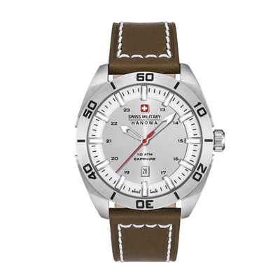 Swiss Military by Hanowa Gent's Champ Watch with Genuine Leather Strap